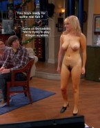 Melissa Rauch Naked Body Captioned Fake 001
