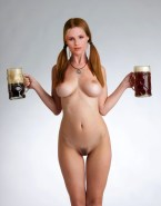 Michelle Hunziker Fully Nude Body Hot Tits 001