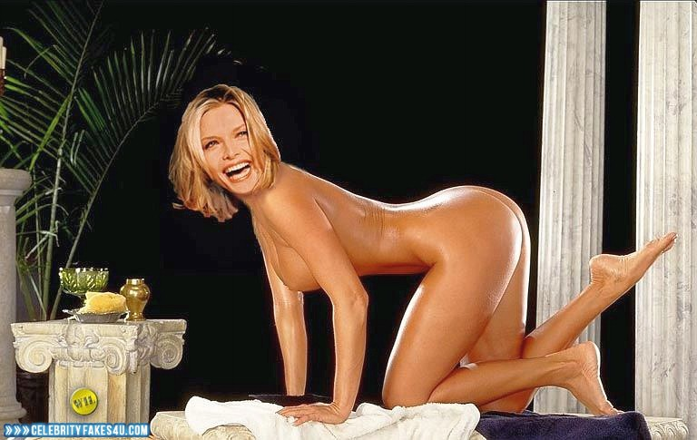 Michelle Pfeiffer Fake, Ass, Completely Naked Body / Fully Nude, Porn