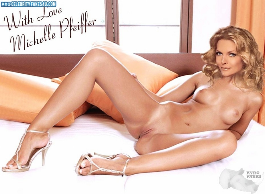 Michelle Pfeiffer Fake, Shaved Pussy, Very Nice Tits, Porn