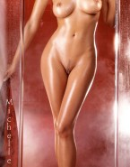 Michelle Pfeiffer Wet Athletic Body Nsfw 001