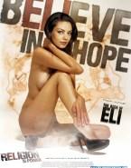 Mila Kunis Naked The Book Of Eli 001