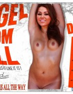 Miley Cyrus Boobs Movie Cover Fake 001