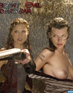 Milla Jovovich Boobs Resident Evil 002