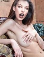 Milla Jovovich Breasts Nude 001