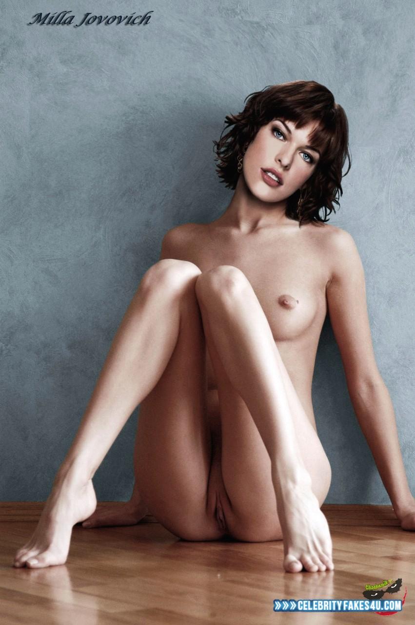Milla Jovovich Fake, Feet, Pussy, Tits, Porn