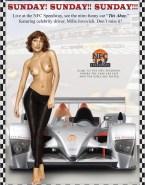 Milla Jovovich Feet Topless 001