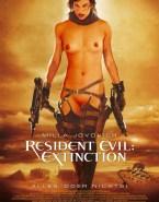 Milla Jovovich Movie Cover Resident Evil Xxx 001