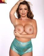 Ming Na Wen Big Squeezing Tits Nude 001