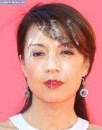 Ming Na Wen Cumshot Facial Porn 001