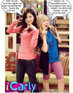 Miranda Cosgrove and Jennette McCurdy iCarly Porn Fake-006
