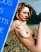 Miranda Otto Beach Naked Body Fake 001