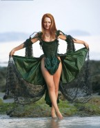 Miranda Otto Hot Outfit Lingerie Fake 001