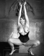 Mylene Farmer Bondage Great Tits Naked 001