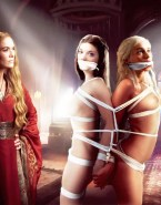 Cersei Lannister Tortures Margaery Tyrell and Daenerys Targaryen - Game of Thrones Bondage Porn Fake-001