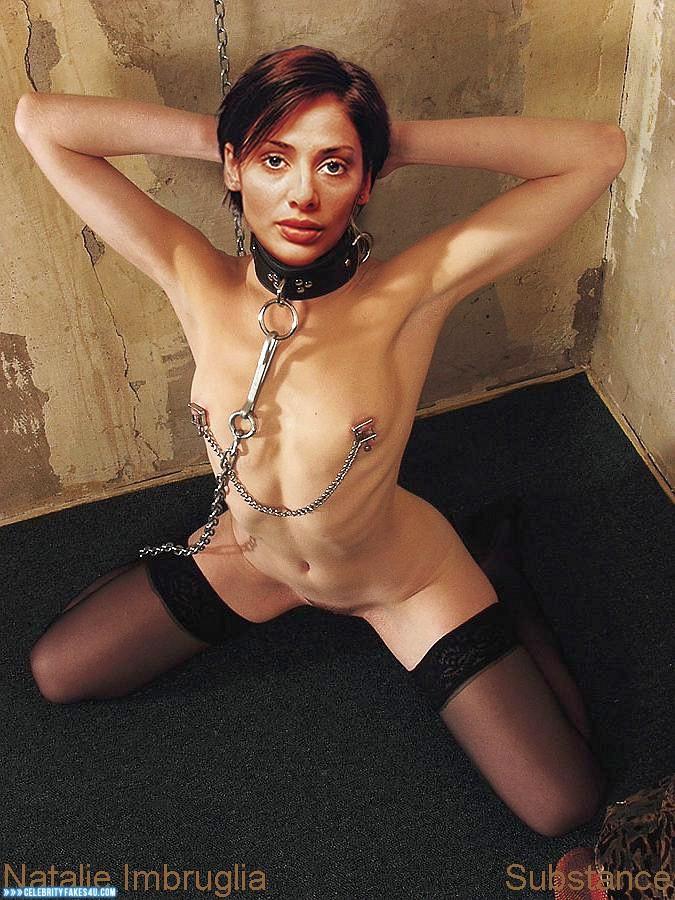Natalie Imbruglia Nipple Torture Collar Porn Fake 001 -6732
