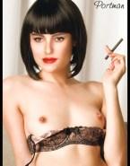 Natalie Portman Breasts Smoking Nudes 001
