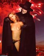 Natalie Portman Topless V For Vendetta 001