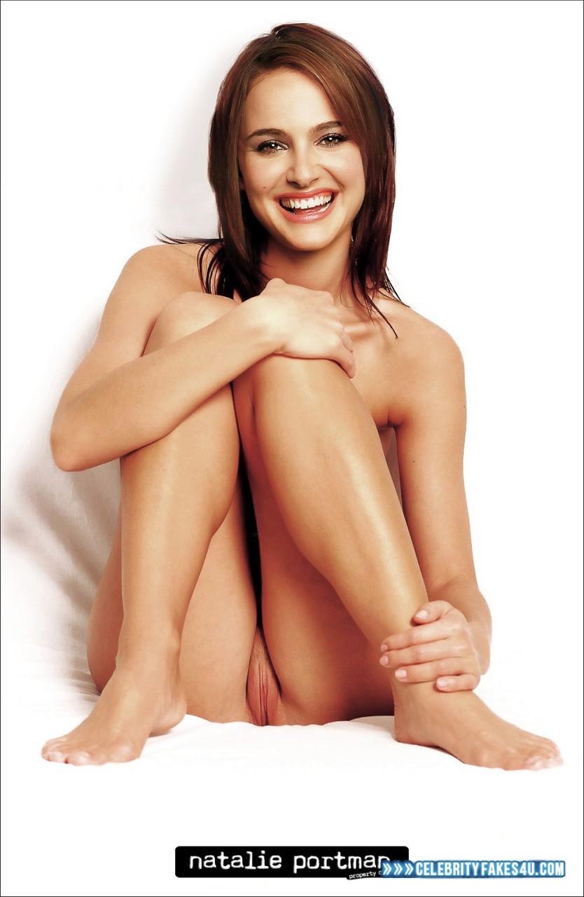 Natalie Portman Fake, Brunette Hair, Nude, Pussy, Porn