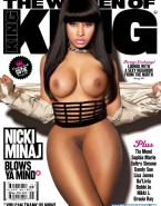 Nicki Minaj Legs Magazine Cover Nude Fake 001