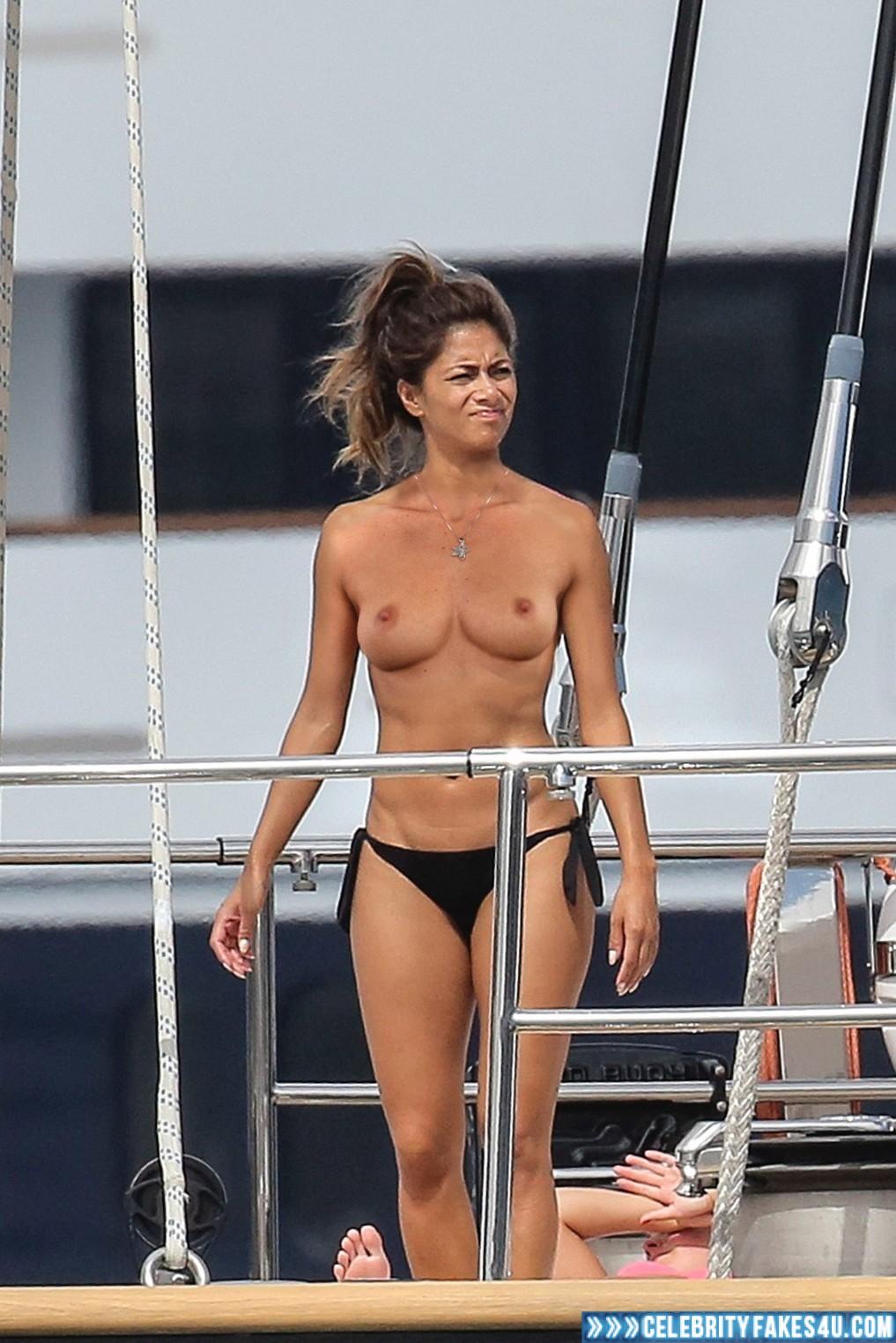 Topless Nicole Scherzinger