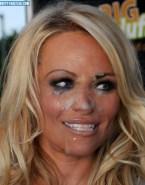 Pamela Anderson Cumshot Cum Facial Naked 001