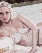 Rachel Nichols Beach Naked Body 001