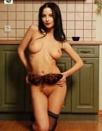 Rachel Nichols Pantieless Topless 001
