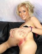 Rachel Riley Spreads Ass Cheeks Vagina Naked 001