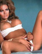Raquel Welch Fingers Her Panties Aside Exposing Pussy 001