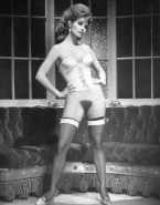 Raquel Welch Without Panties Hairy Pussy Naked 001