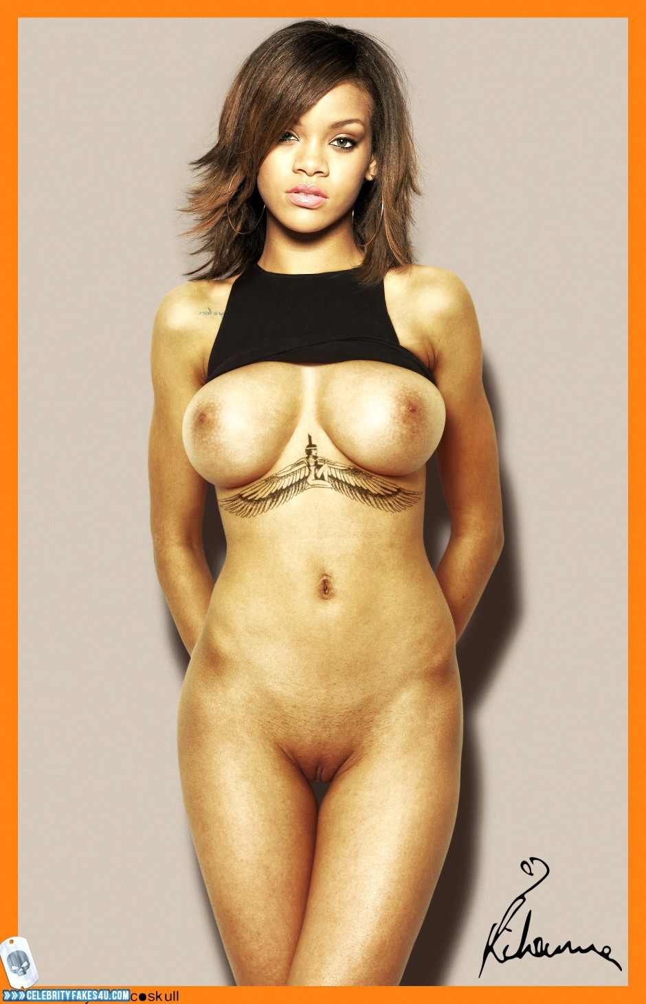 rihanna nude fat