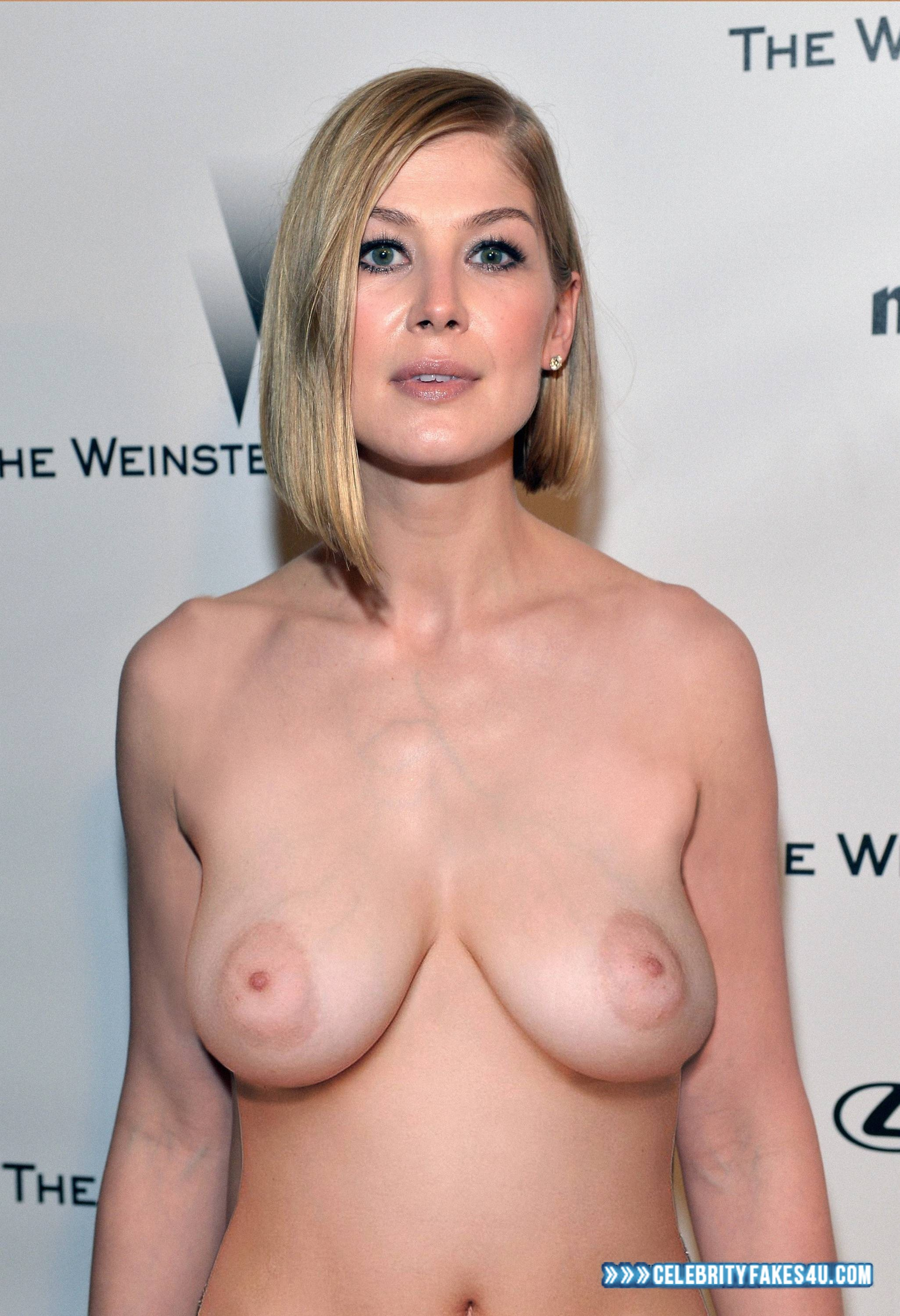 Rosamund pike breast tits opinion
