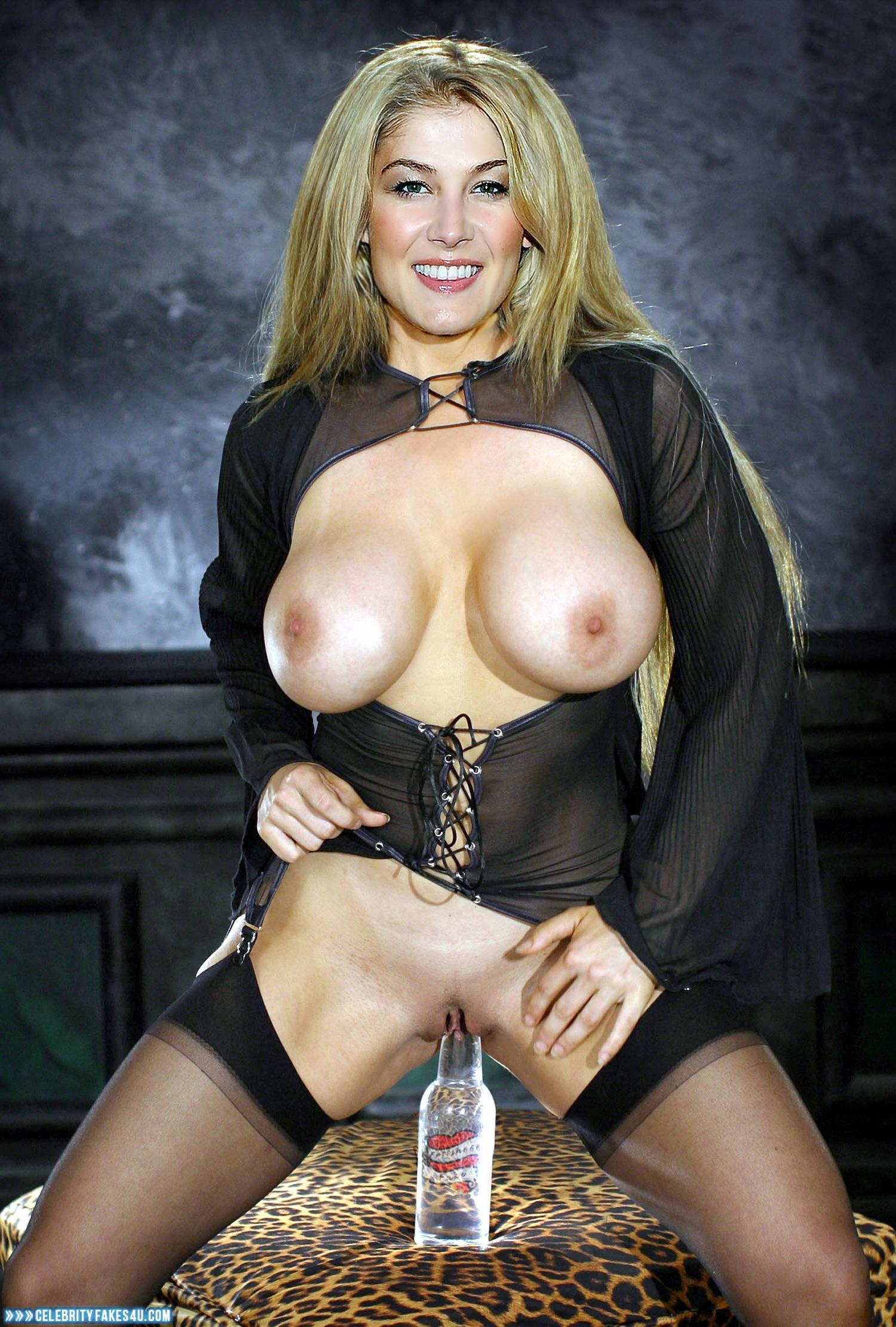 Commit error. Rosamund pike breast tits