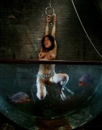 Rosario Dawson Wet Bondage Nudes 001
