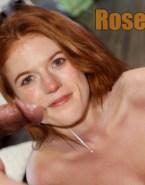 Rose Leslie Cum Facial Tits Porn Sex Fake 001