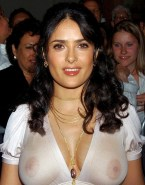 Salma Hayek See Thru Public Nudes 001