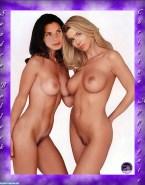 Sandra Bullock Lesbian Great Tits 001