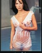 Sandra Bullock Pool See Thru Naked 001