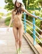 Sandy Leah Lima Small Tits Outdoors Naked Fake 001