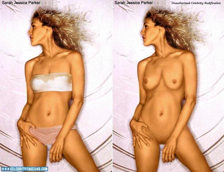 Finest Sarah Jessica Naked Gif