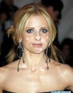 Sarah Michelle Gellar Cum Facial 001