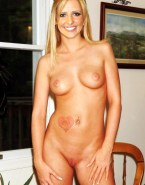 Sarah Michelle Gellar Homemade Naked Body 001