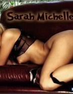 Sarah Michelle Gellar Lingerie Pussy 001