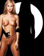 Sarah Michelle Gellar Pantieless Naked Body 001