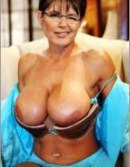 Sarah Palin Big Exposes Her Boobs Nsfw 001