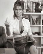 Sarah Palin Hot Outfit Skirt Naked 001