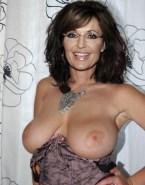 Sarah Palin Large Tits Exposing Breasts 001
