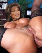 Sarah Palin Anal Legs Spread Sex 001