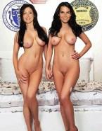 Sasha Alexander Lesbian Hot 6 Pack Abs 001